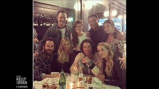 "Tiffani Thiesen Got Together with the ""Saved by the Bell"" Cast"