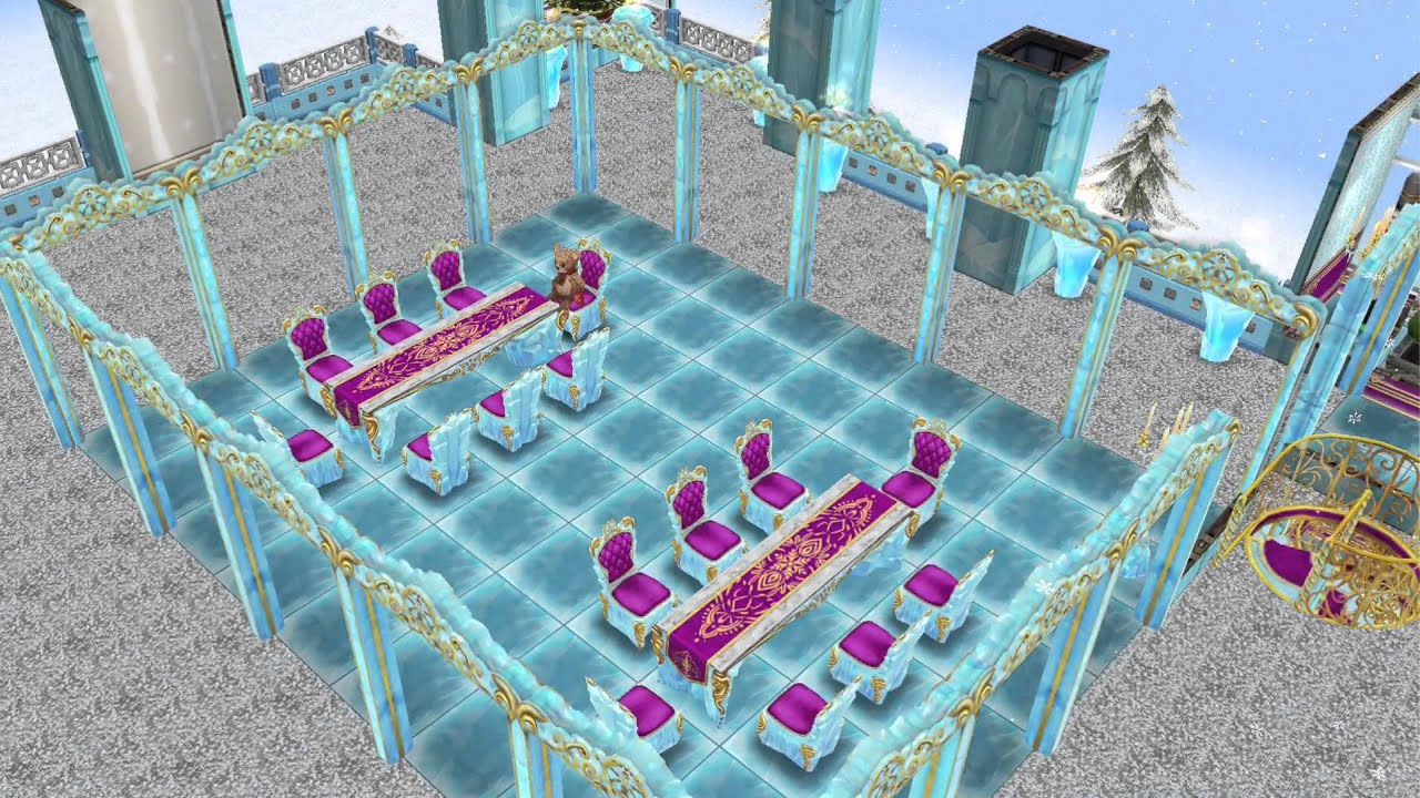 sims freeplay - ice castle