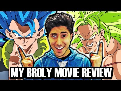 MY BROLY MOVIE EXPERIENCE! Dragon Ball Super Broly Movie English NON-SPOILER Review!