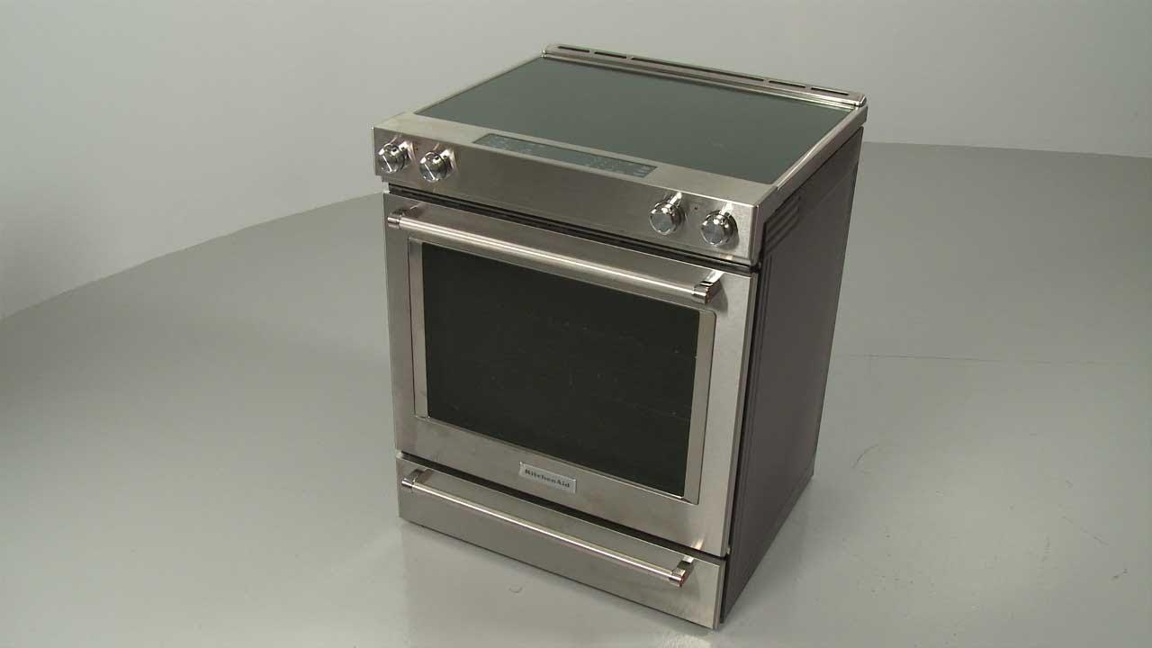 Kitchenaid Electric Slide-In Range Disassembly - Model #KSEB900ESS2