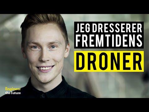 Mød Jonas, der dresserer droner