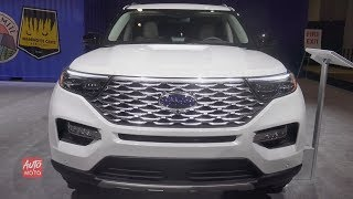 2020 Ford Explorer Platinum - Exterior And Interior Walkaround - 2019 Toronto Auto Show
