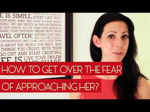 Get Over The Fear Of Approaching Her With This Amazing Technique!!