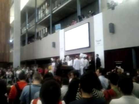 """Acto """"Cochinillo 1 millon"""" Campus Maria Zambrano"""
