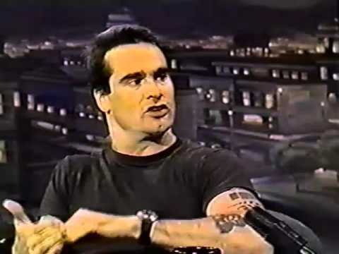 """Henry Rollins on the """"Tonight Show with Jay Leno"""" 1994"""