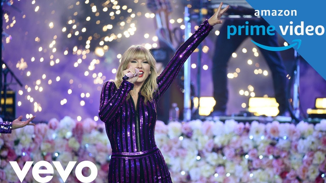 Taylor Swift Me 1080 Hd Live Amazon Prime Concert 2019 Youtube