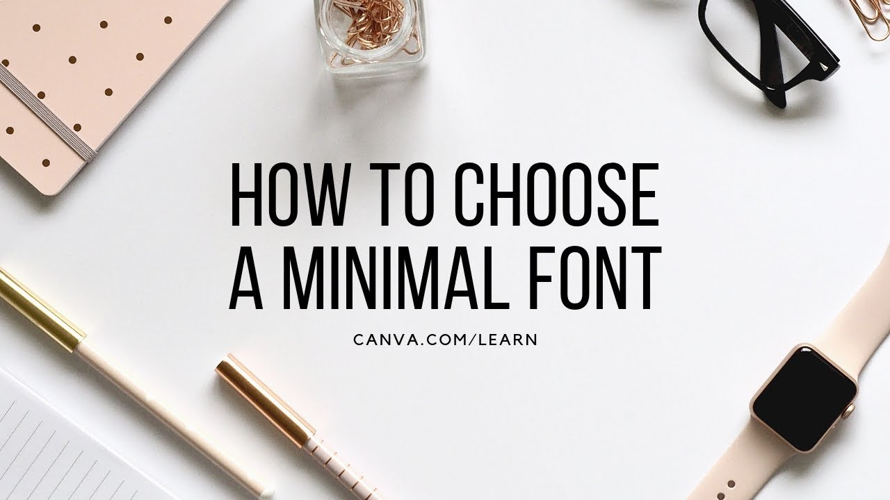 60 free minimalist fonts for your designs – Learn