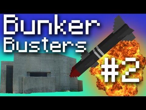 Minecraft Bunker Busters - Bring on the Nukes! #2