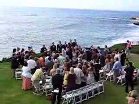 La Jolla Cove San Go California Beach Wedding