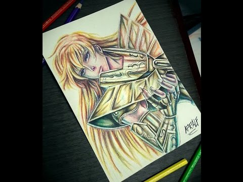 Shaka virgo \u0027GOLD SAINT\u0027 , Speed drawing,art