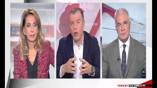 Ο Στ.Θεοδωράκης στο MEGA για το συμβούλιο των πολιτικών αρχηγών