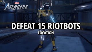 Marvel's Avengers - Riotbots Location (SHIELD Assignment)