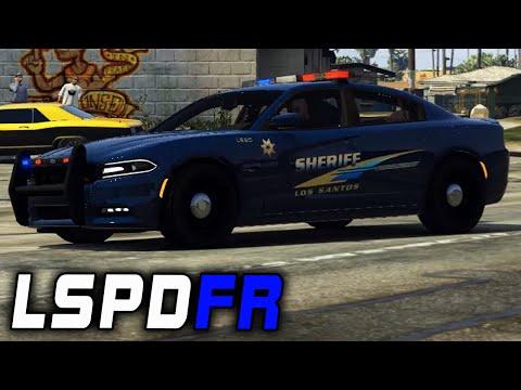 K9 Unit - 2015 Dodge Charger GTA V LSPDFR Patrol 25 by FinKone Finney