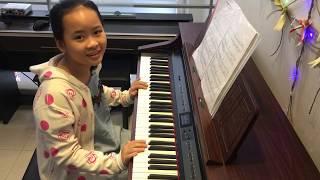 Tác Phẩm HUNGARIAN DANCES no.5    Piano Học viên Ngọc Hân    Trung Tâm Âm Nhạc Vĩ Cầm