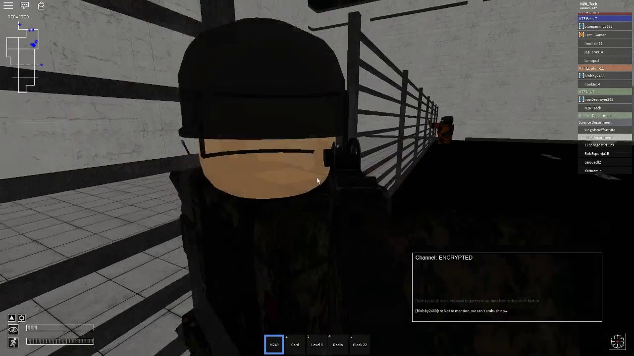 Roblox Mtf Scp Nu 7 And E 11 Vs Ci Roblox Scp Site 19 6 13 19 Youtube