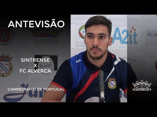 Antevisão ao jogo Sintrense vs FC Alverca