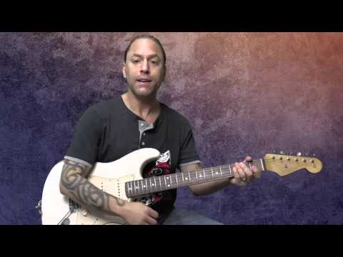 Traditional Blues Turnaround  Guitar Lesson #01