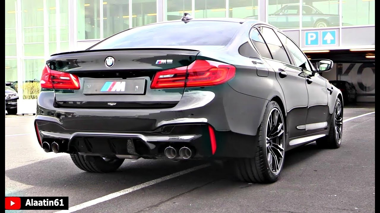6 insane features of the 2018 bmw m5 test drive youtube. Black Bedroom Furniture Sets. Home Design Ideas