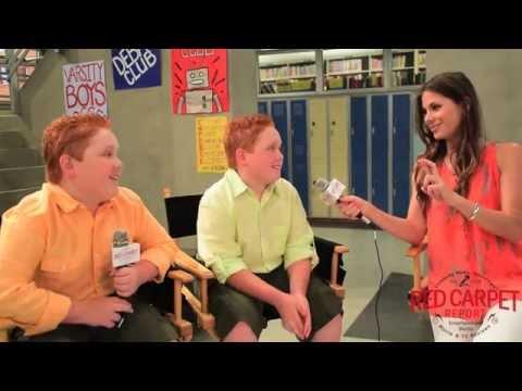 "Benjamin & Matthew Royer on set of ""Best Friends Whenever"" from Disney Channel #BestFriendsWhenever"