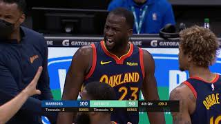 Draymond Green Gets Ejected In Wild Ending To Warriors-Hornets