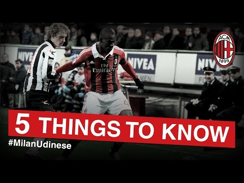 AC Milan-Udinese: 5 things to know | AC Milan Official