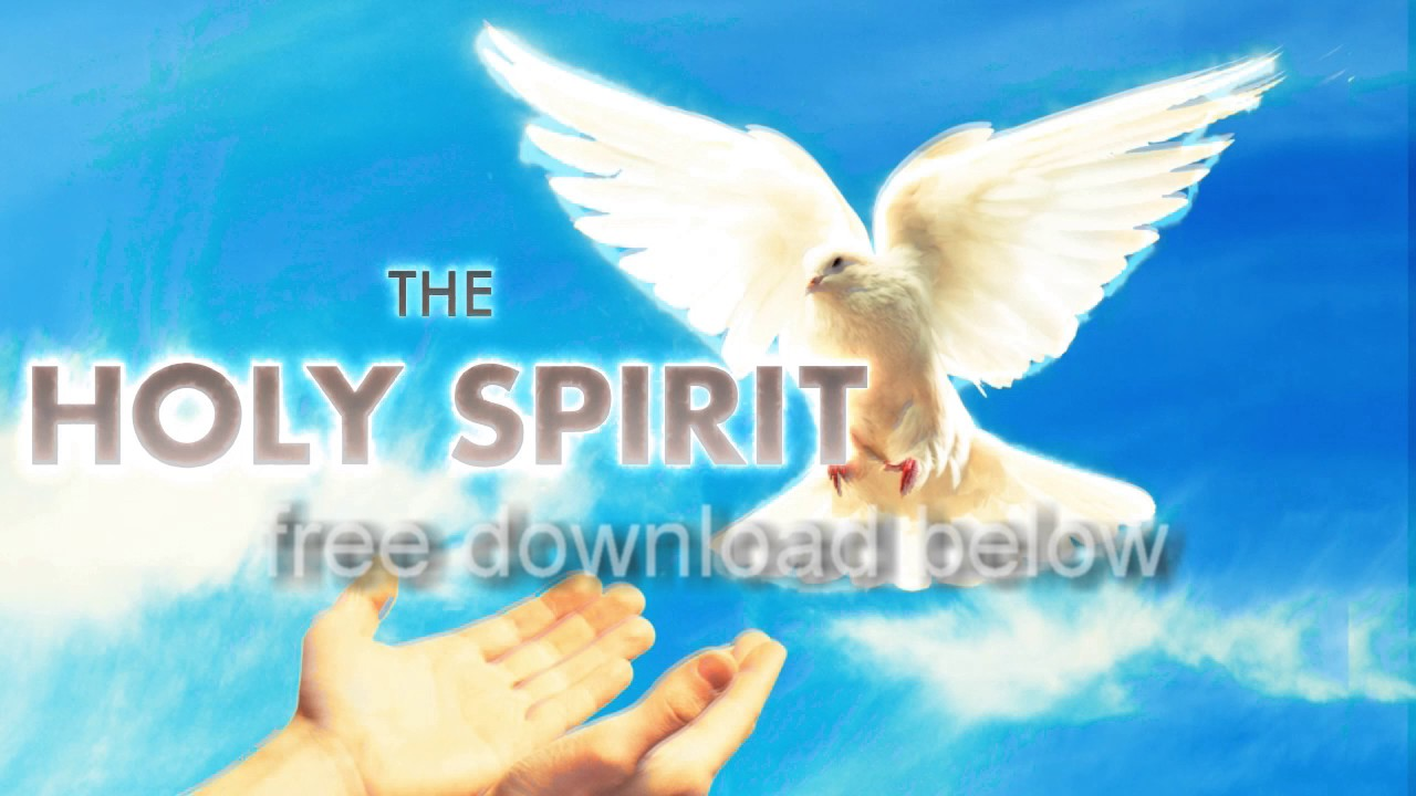 FREE DOWNLOAD Receive the Holy Spirit Video looping Background display