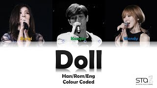 KANGTA, WENDY & SEULGI (강타, 웬디 & 슬기) DOLL (인형) LYRICS (Han/Rom/Eng) COLOUR CODED (studio Version)