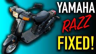 1989 Yamaha Riva Razz 50cc  Sc…