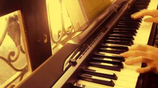 Dragon ball gt piano very beautifull