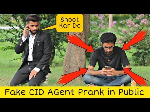 Fake CID Agent Prank | Pranks In Pakistan