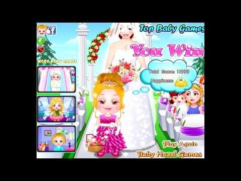 Бесплатные игры онлайн  Baby Hazel Flower Girl  Малышка Хейзел Цветы, игра для девочек
