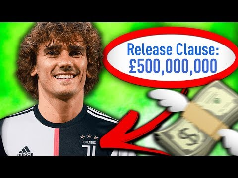 THE RELEASE CLAUSE ONLY CHALLENGE WITH JUVENTUS!!! FIFA 19 Career Mode