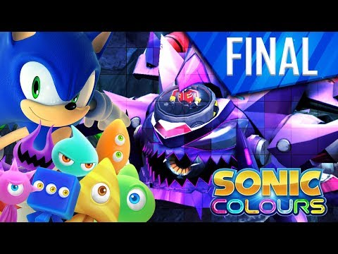 FINAL COLOR BLASTER ! // Sonic Colors Let's Play FR