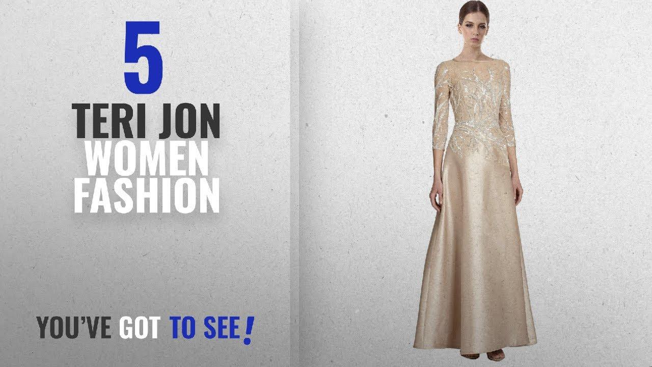 Teri Jon Women Fashion [2018 Best Sellers]: Teri Jon Elegant Bead ...