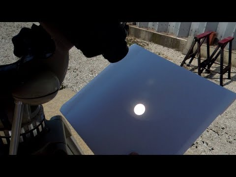 Solar Eclipse Binoculars Projector - Safe Viewing