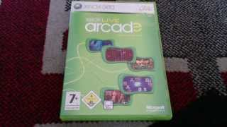 Nostalgamer Unboxes Xbox Live Arcade Compilation Disc For Xbox 360 System PAL UK