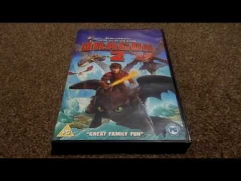How To Train Your Dragon Uk Dvd Unboxing