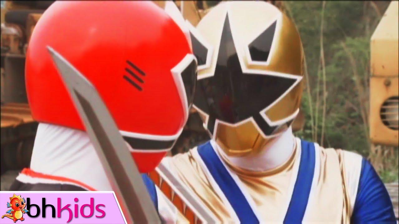 Siêu Nhân Thần Kiếm – Tập 17+18 Full HD : Siêu Nhân Vàng Kim Xuất Hiện