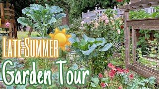 Summer Garden Tour \u0026 15 Perennial Crops