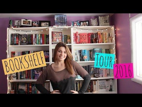 BOOKSHELF TOUR 2016!!!