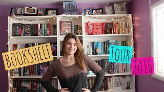 One of Hailey in Bookland's most viewed videos: BOOKSHELF TOUR 2016!!!