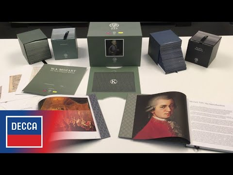 Mozart 225: The New Complete Edition - Official Unboxing Video