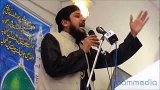 Qari Asif Rashidi 02 Nabi ke saare | Azmat-e-Sahabah conference 2013 Birmingham UK