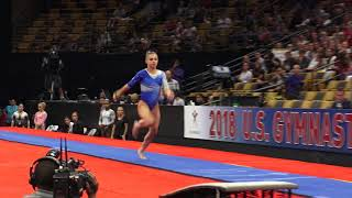 Ragan Smith - Vault – 2018 U.S. Gymnastics Championships – Senior Women Day 2