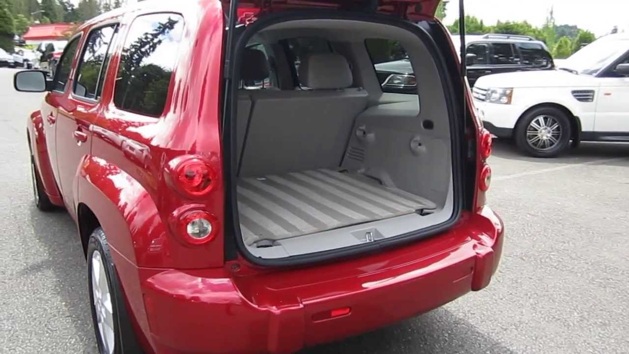 2010 Chevrolet Hhr Red Stock 5157c Interior Youtube