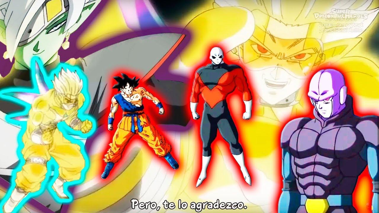 DRAGON BALL HEROES CAPITULO 16 COMPLETO HD SUB ESPAÑOL  HEARTS TRAICIONA A ZAMAZU