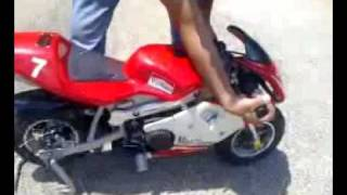 My New 49cc Pocket Bike