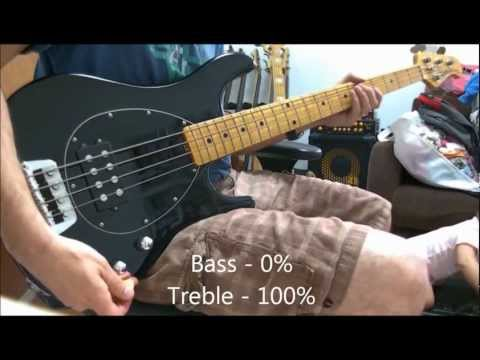 Music Man Sterling Classic Bass - Demo