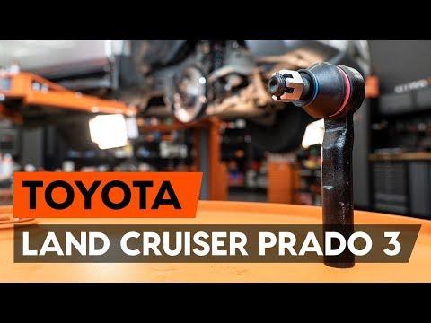 Как заменить наконечники поперечной рулевой тяги наTOYOTA LAND CRUISER PRADO 3 [ВИДЕОУРОК AUTODOC]