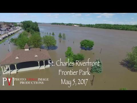 Missouri River Flooding-St. Charles Riverfront